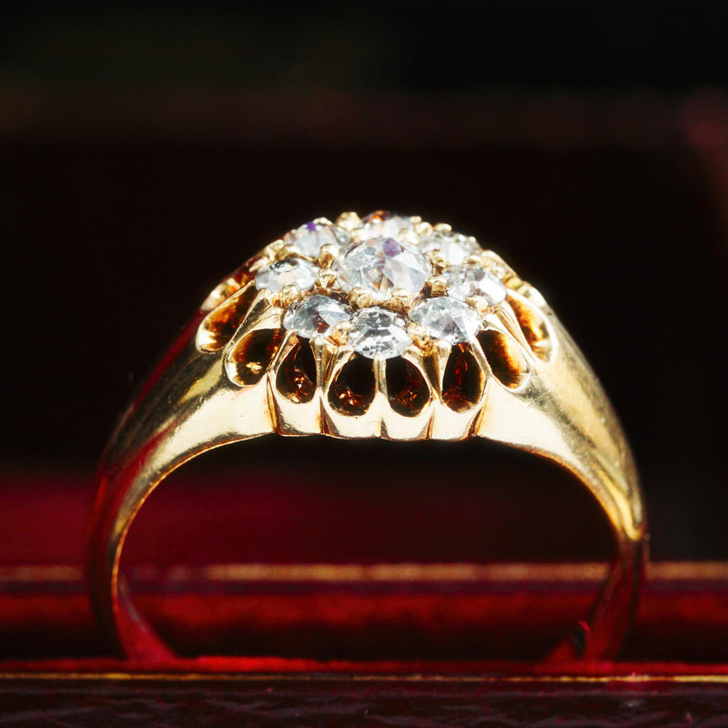 Date 1902 Diamond Cluster Ring