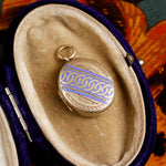 Lovely Antique Enamelled Locket