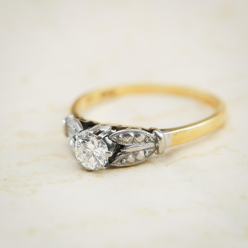 Vintage Perfection! Art Deco Diamond Engagement Ring