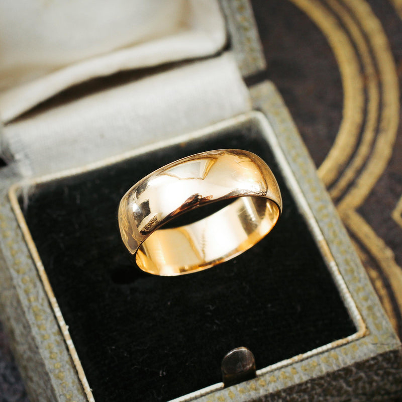 Date 1905 18ct Gold Wedding Ring