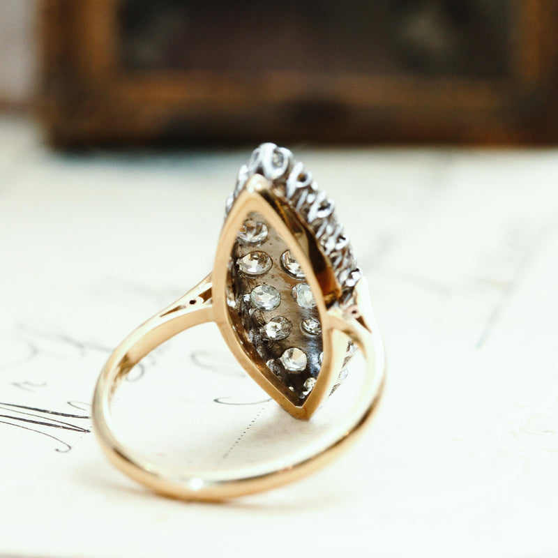 OMG! Gorgeous Bling Antique Diamond Ring