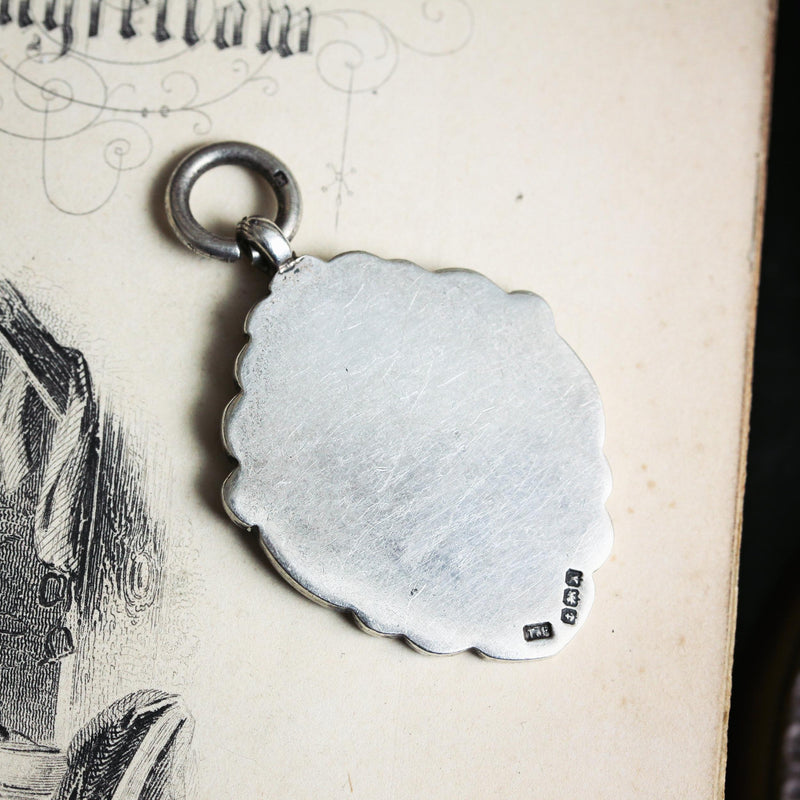 Date 1922 Fattorini & Co Silver Fob Medal, Ready for Engraving