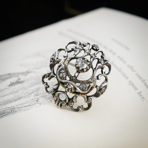 18th Century Georgian Diamond Pin
