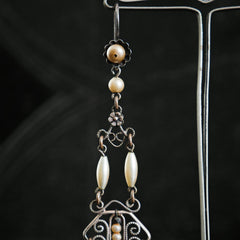 A Scarce Pair of Louis Rousselet Drop Earrings