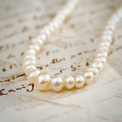 Vintage Baroque Freshwater Pearl Necklace