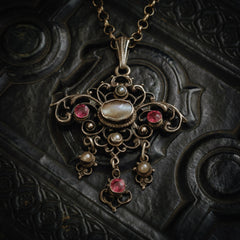 Antique Austro Hungarian Pendant