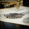 Refined Early 19th Century Flourish Paste Brooch