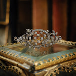 Antique Paste Strass Brooch