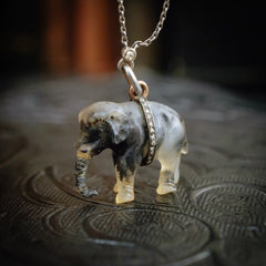 Antique Indian Raj Period Elephant Pin