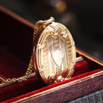 An Antique Edwardian Era Gold Locket