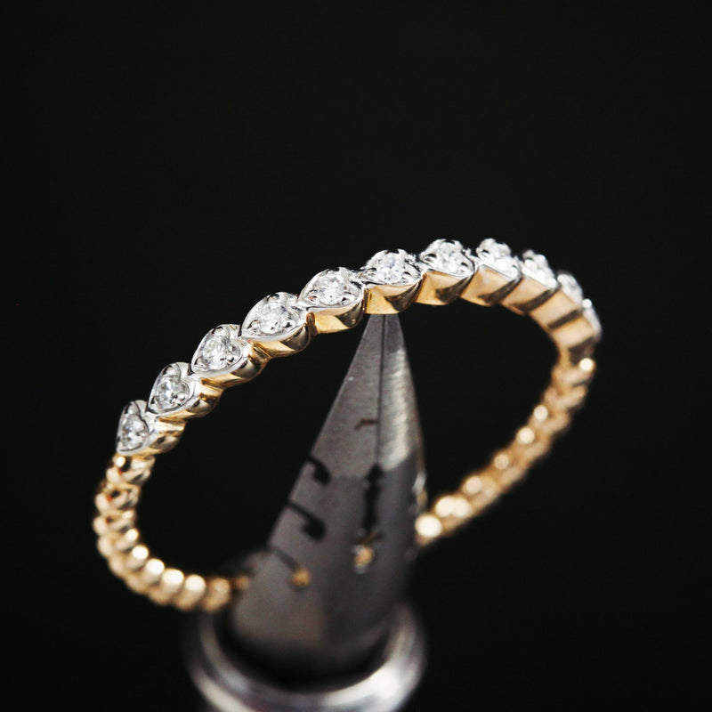 Dreamy Little Diamond Stacking Band