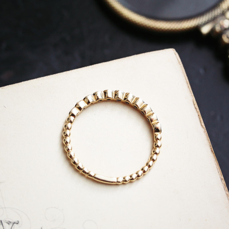 Dainty and Light! Dreamy Little Diamond Stacking Band