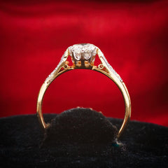 My Twinkliest Pretty! Vintage Diamond Engagement Ring