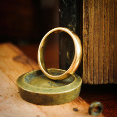 Super Quality Date 1872 22ct Gold Wedding Ring