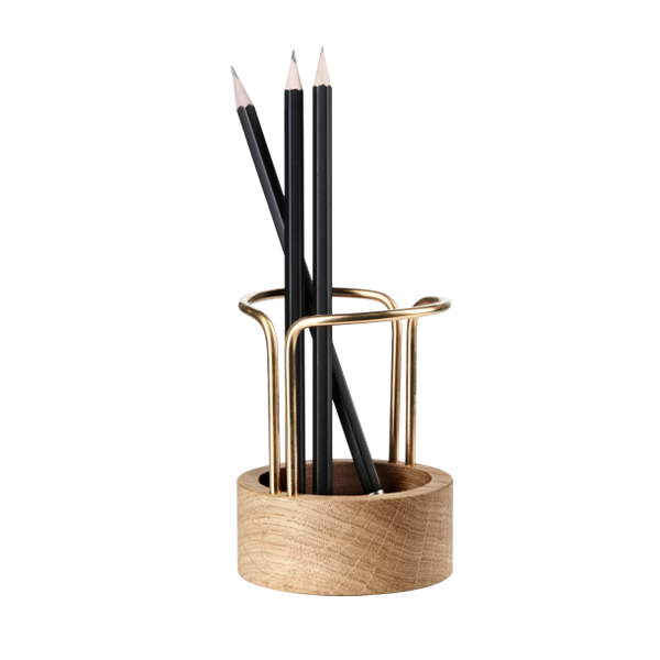 Pen Up Pen-holder (oak)