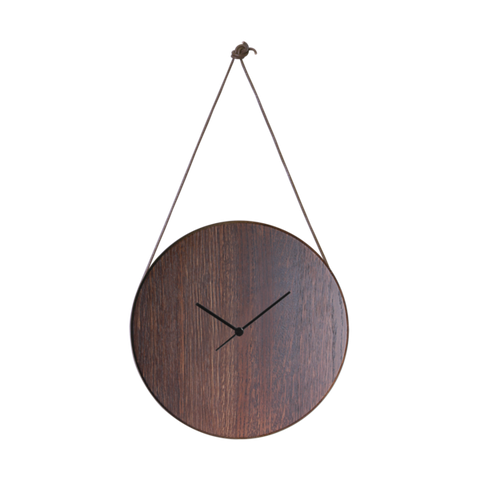 Mux Clock (smoked oak)