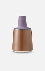Tone Vase (Rust & Purple) - Small