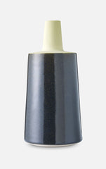 Tone Vase (Black & Yellow) - Large