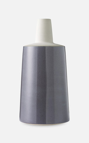 Tone Vase (Purple & Light Grey) - Large