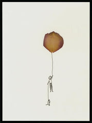 Leaves - Boy & Balloon (50x70 cm)