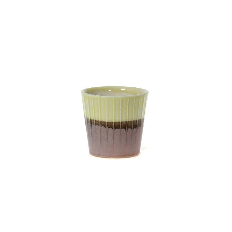 Clib Klap Espresso Cup (yellow/brown)