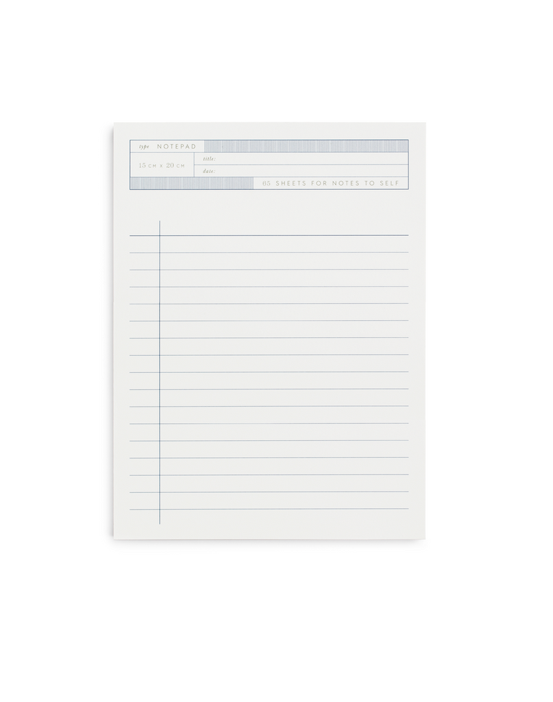 Notes to Self Notepad