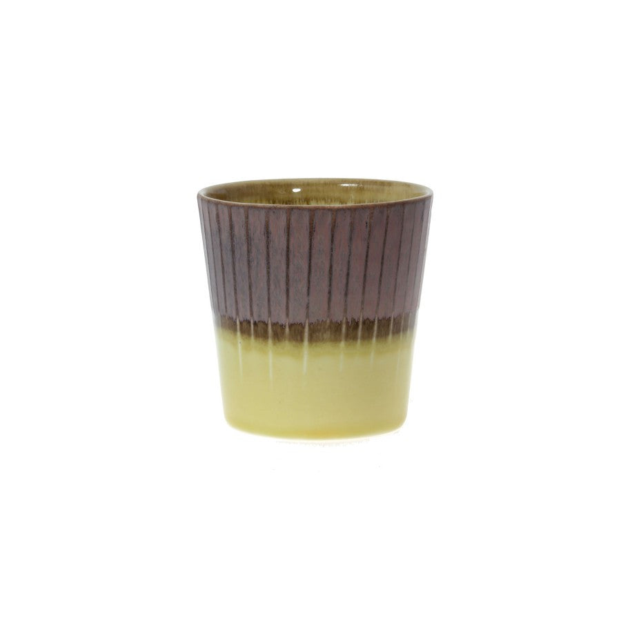 Clib Klap Small Mug (yellow/brown)