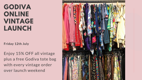 Godiva Online Vintage Relaunch 12th July 2019