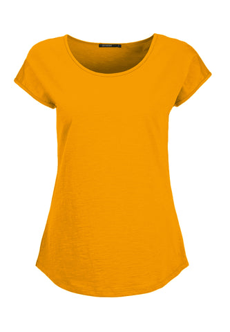 Cool Basic Top - Golden Yellow