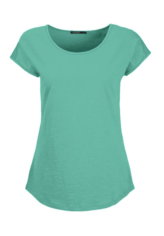 Cool Basic Top - Frosty Green