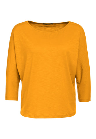 Smile Batwing Top - Golden Yellow