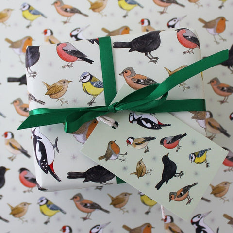Gift Wrap Sets - Garden Birds