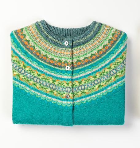 Alpine Short Cardigan - Lilypad