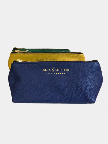 Leather Make Up Case - Godiva Boutique