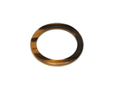 Brown Natural Buffalo Horn Bangle - Godiva Boutique