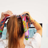 Refraction Mini Scarf - Godiva Boutique