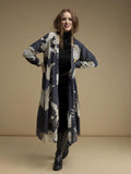 Stork Duster Coat - Charcoal - Godiva Boutique