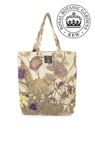 Thistle Purple Canvas Bag - Godiva Boutique