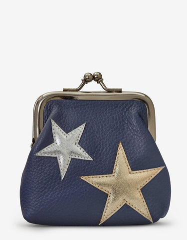 Stars Clip Top Purse - Godiva Boutique