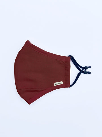 Burgundy Face Covering