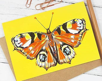Illustrated Greeting Card - Butterfly