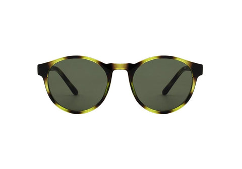 Marvin Sunglasses - Demi Olive Green - Godiva Boutique