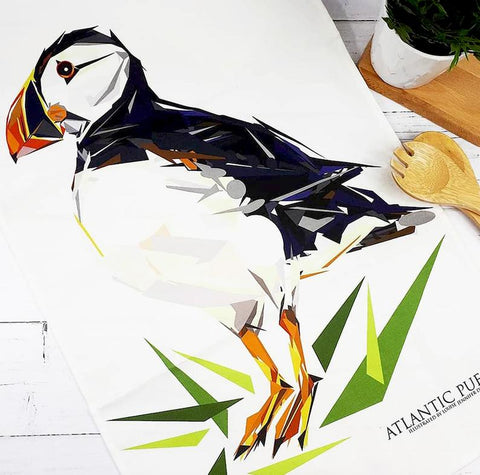 Illustrated Greeting Card - Atlantic Puffin