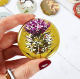 Large Fridge Magnet - Spear Thistle