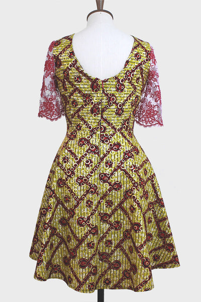 Jessie Party Dress Yellow/Gold