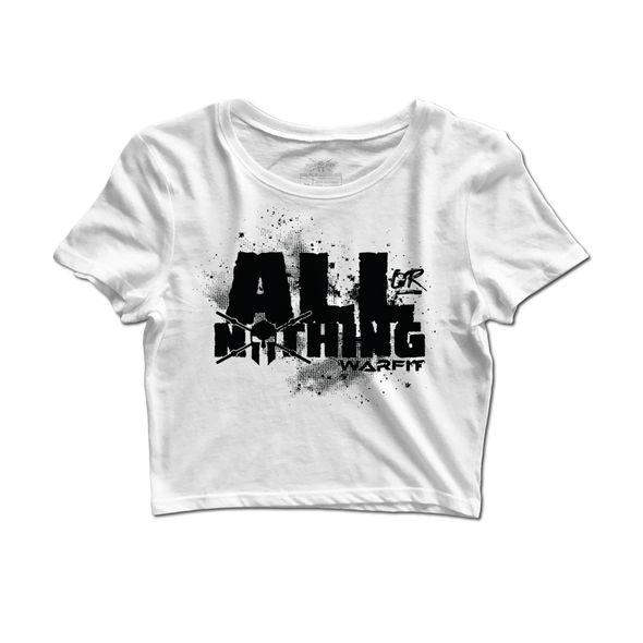 All Or Nothing Crop Tee