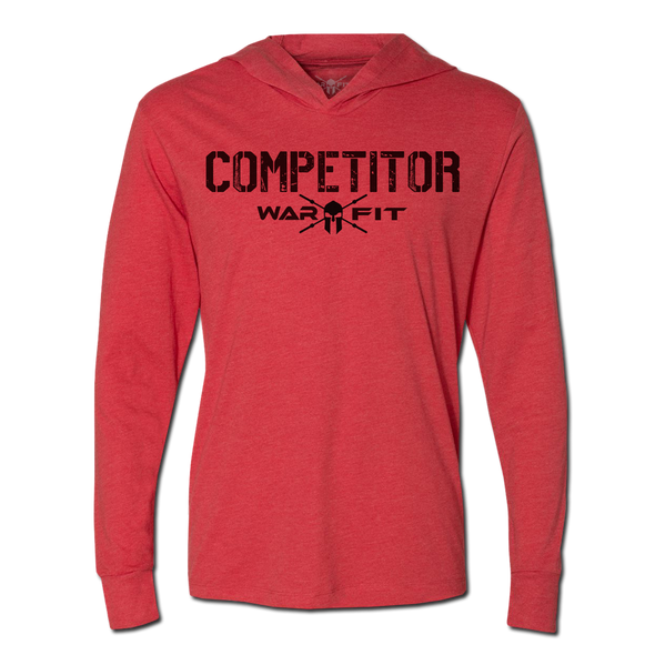 Competitor Jersey Hoodie - Red