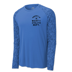 Pro Dry Long Sleeve Digi Camo - Blue