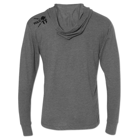 Wartorn Lightweight Hoodie - Heather Grey