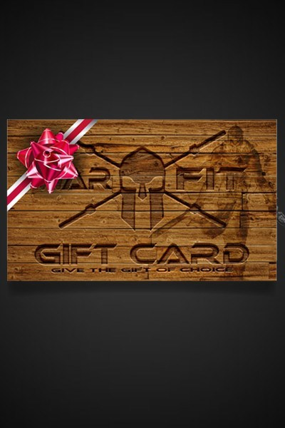 The Warrior's Gift Card - WARFIT CLOTHING CO.™ - 2